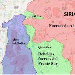 La situación en el sur de Siria: Irán se acerca a los Altos del Golán