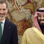 Mohamed Bin Salmán de visita en España