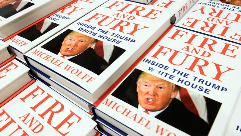 "¿Qué dice ""Fire and Fury"" sobre la política exterior de Trump?"